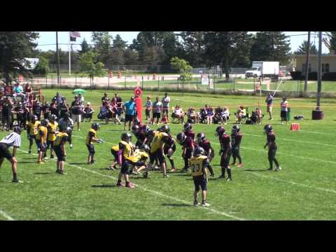 2013 JV Maroon Clarence Bulldogs Vs Grand Island Vikings