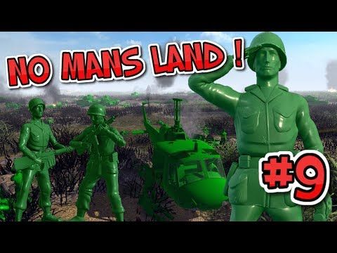 PLASTIC 'NO MANS LAND' ! Army Men of War : Episode 9 : Stale mate?