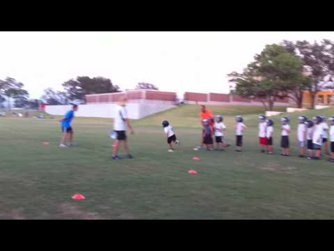 Ring Of Fire Football Drill