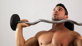 How to Do the Overhead Shoulder Press | Arm Workout thumbnail