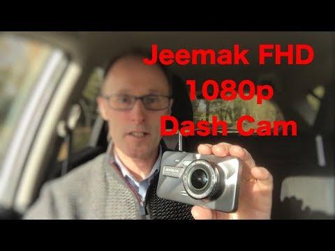 Jeemac FHD 1080p dash cam review