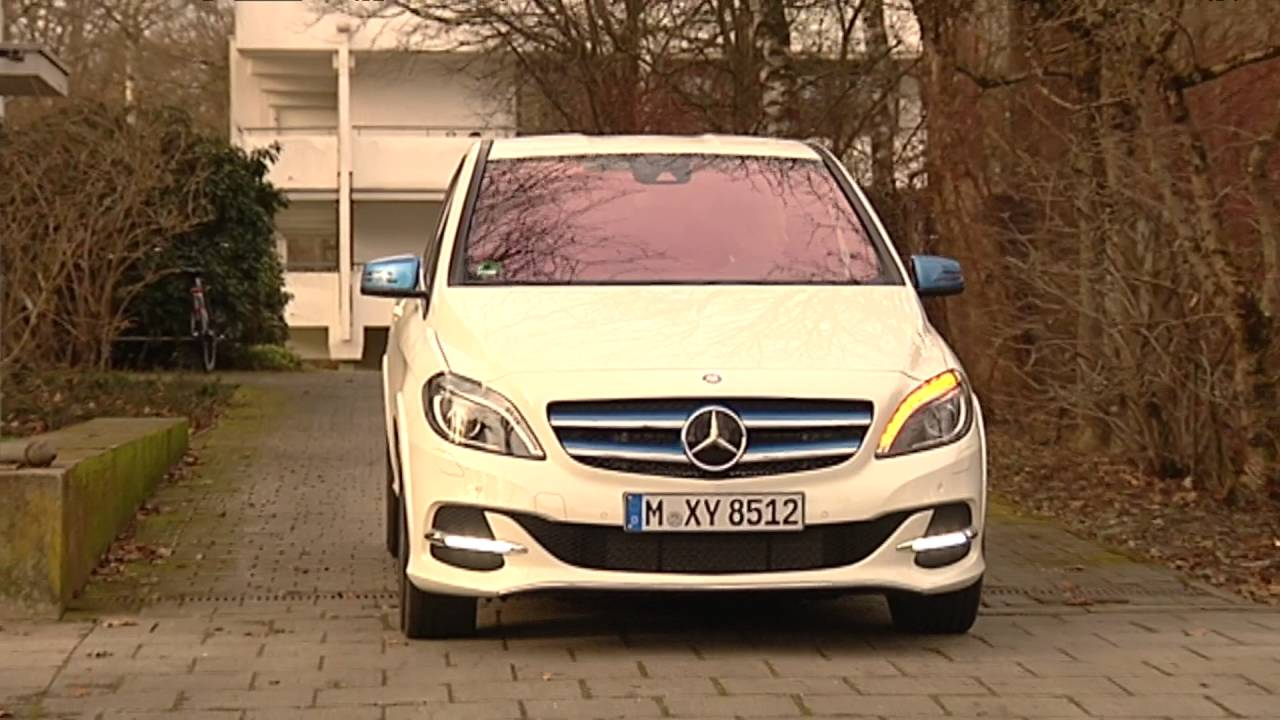 test mercedes b klasse electric drive youtube. Black Bedroom Furniture Sets. Home Design Ideas