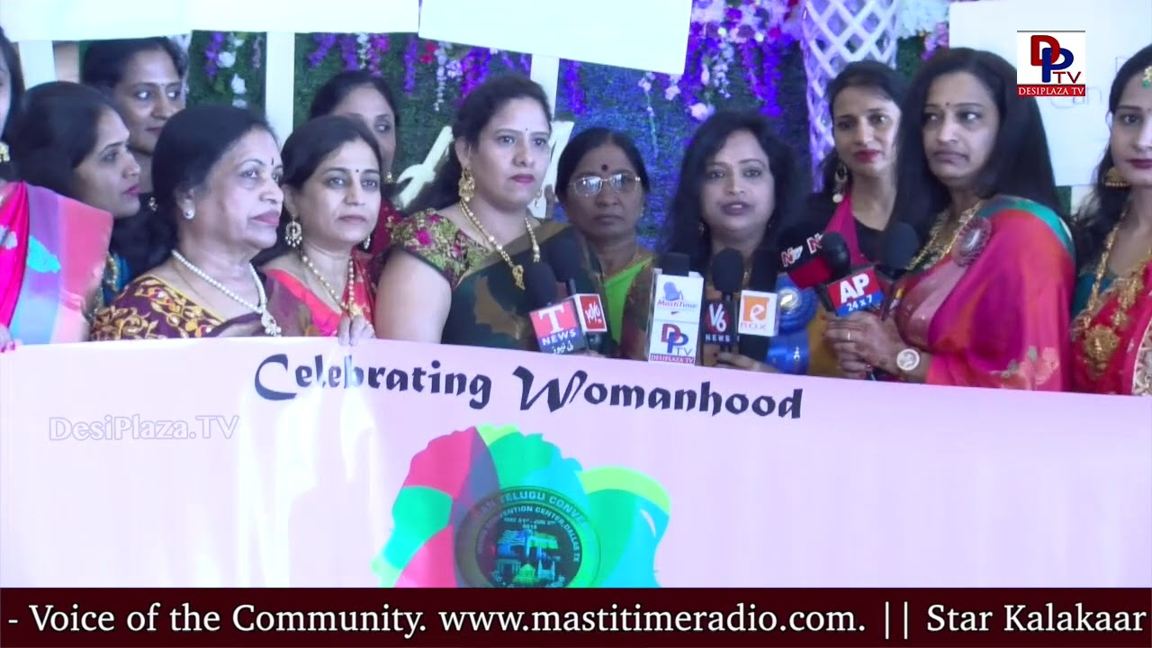 Jyothi Reddy at  - America Telugu Convention ATC ATA TATA- Dallas - Texas - Womens Forum
