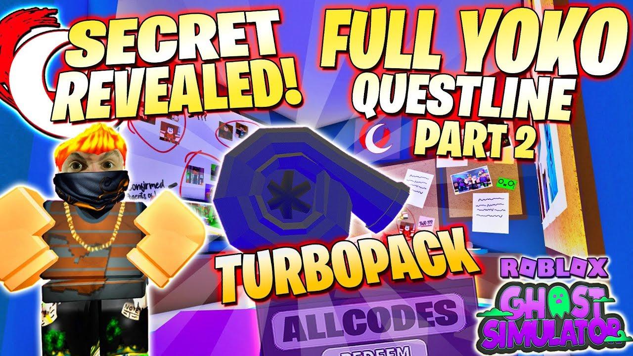 Yoko Questline Part 2 HIDDEN SECRET HUMAN WORLD SYMBOLS & CODES ? Roblox Ghost Simulator Update