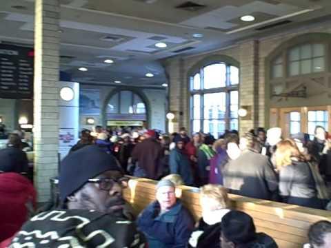 Inauguration '09 Penn Station Baltimore, MD!