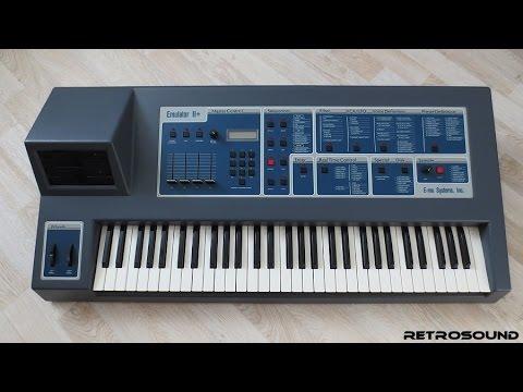 E-mu Emulator II Sampler - sound library (1984)