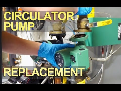 How to Replace or Install a Circulator Pump - Hot Water Boiler