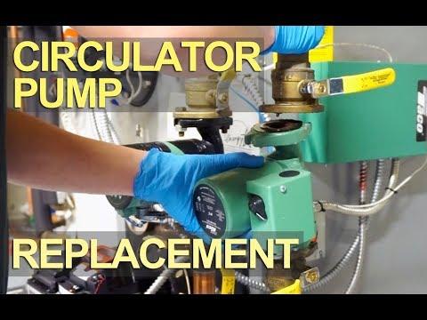Circulator Pump Install, Repair or Replace - DIY