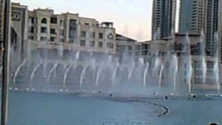 The Dubai Fountain (Springbrunnen in Dubai)