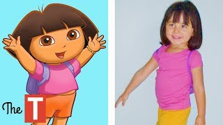 10 Dora The Explorer Characters In Real Life