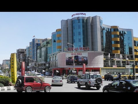 Ethiopia - Addis Ababa / Travel Vlog 2 Edna mall & Bora park
