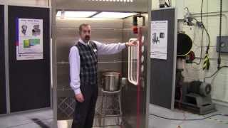 Down Flow Booth Demonstration