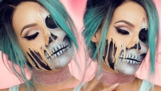 One of Desi Perkins's most viewed videos: MELTING SKULL | DESI PERKINS