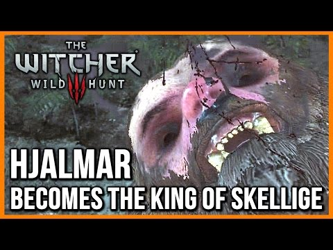 Witcher 3: The Horrible Berserker's Ritual, Hjalmar Becomes King of Skellige