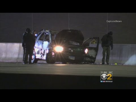 Elgin Police Fatally Shoot Woman Armed With Knife After SUV Catches Fire On Jane Addams Tollway