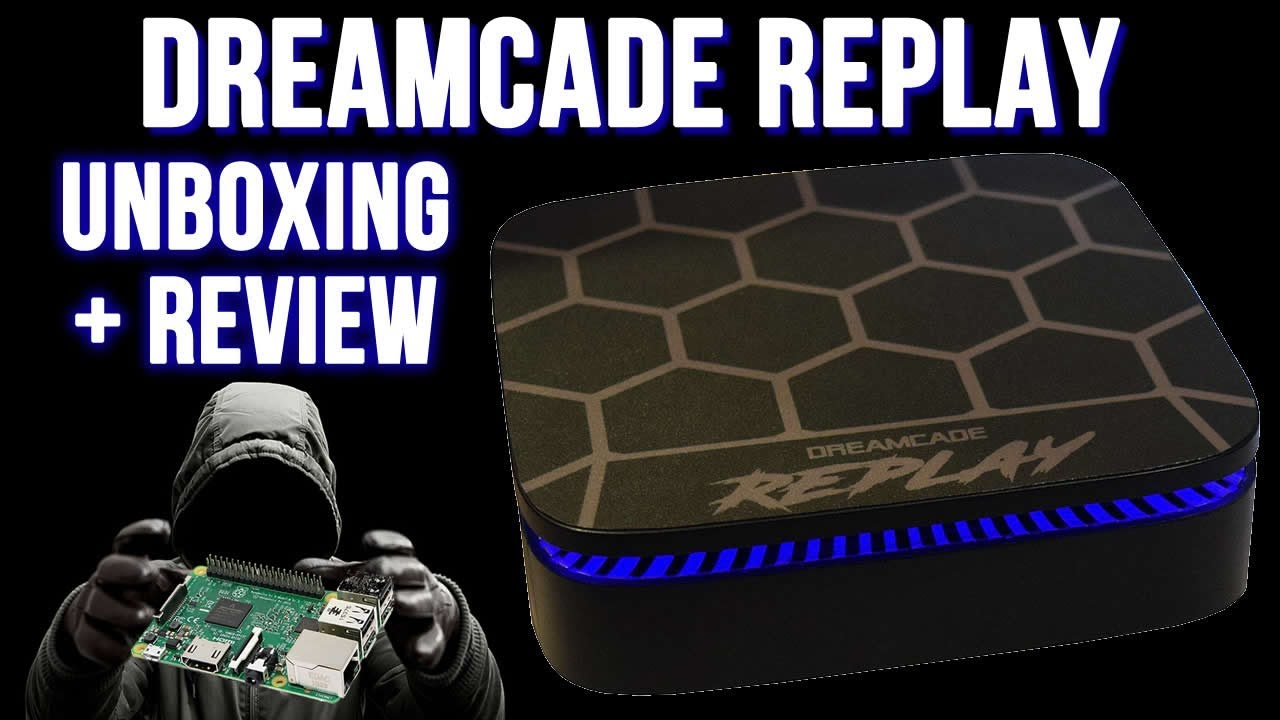 Dreamcade Replay Emulation Unboxing & Overview