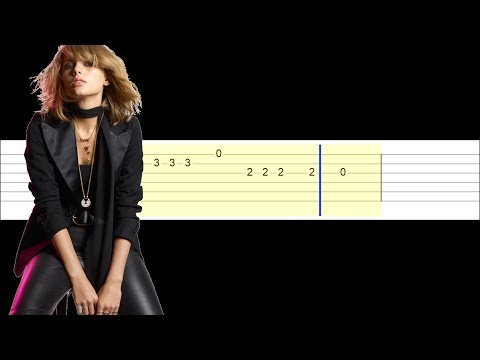 Taylor Swift - Delicate (Easy Guitar Tabs Tutorial)
