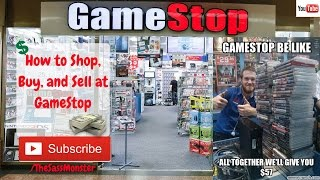 How To Shop,trade, And Sell At Gamestop