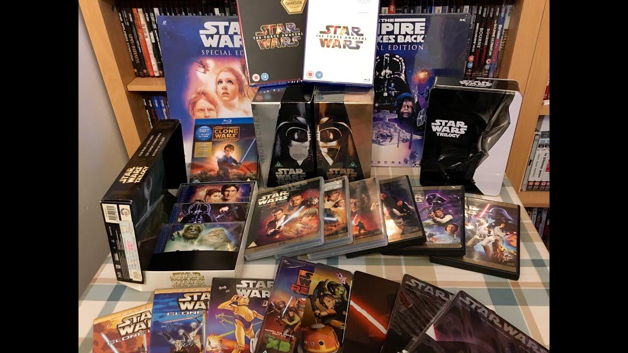 star wars 8 dvd start