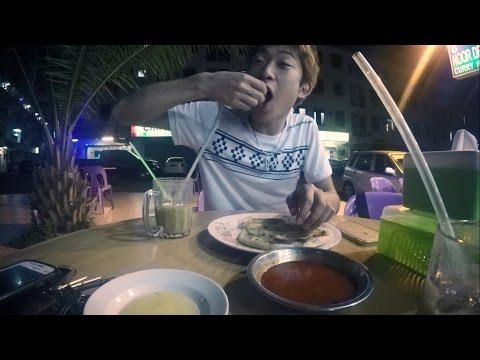 VLOG 4 | RM1.20 Roti Canai & Sabah Fish Market at 3 A.M