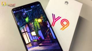 Huawei Y9 2018 black color unboxing