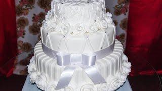 Demostração, bolo de casamento