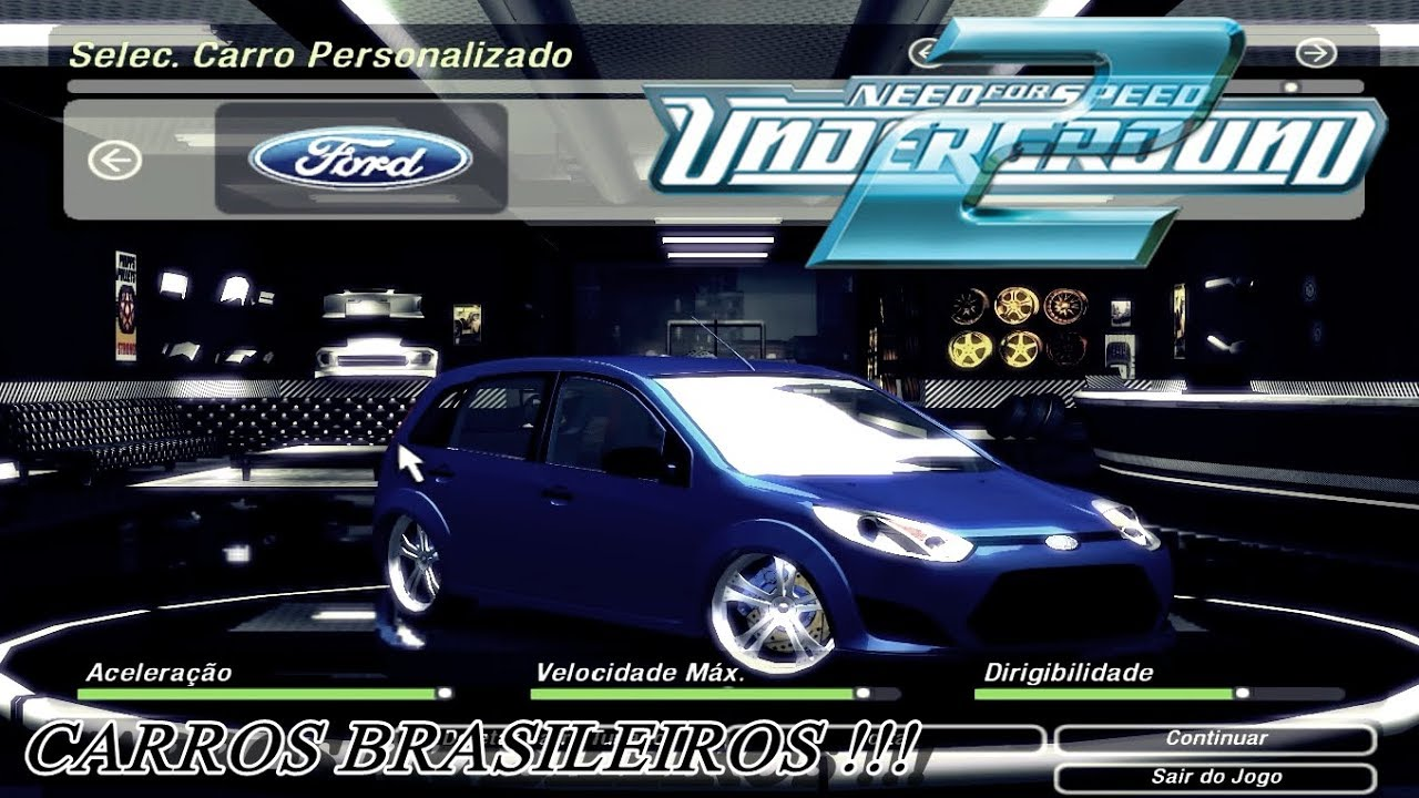 PARA CARROS BRASILEIROS BAIXAR NFSU2 OS TODOS