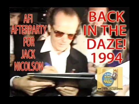 Jack Nicolson's AFI Afterparty at the Monkey Bar 1994