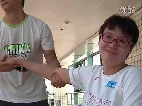 Chinese Swimmer Fu Yuanhui Daily Exercises