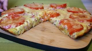 Кабачковая пицца рецепт из КАБАЧКОВ