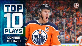Top 10 Connor McDavid Plays from 2019-20 | NHL