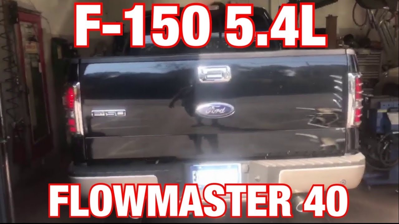 2006 ford f150 5 4l dual exhaust w flowmaster 40 series