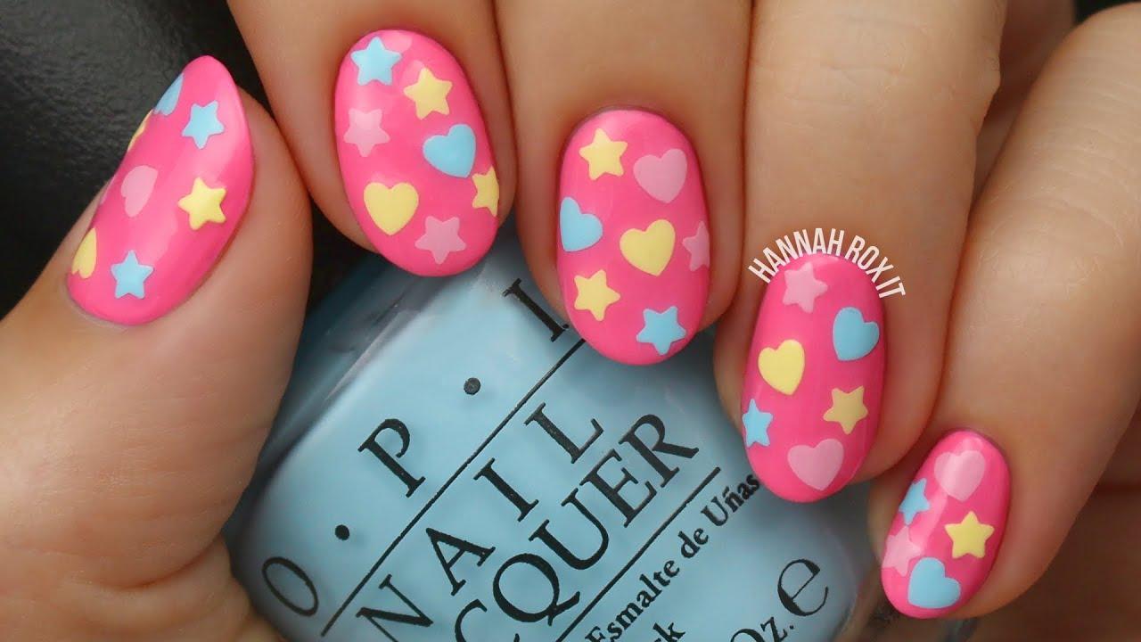 easy diy nail polish decals