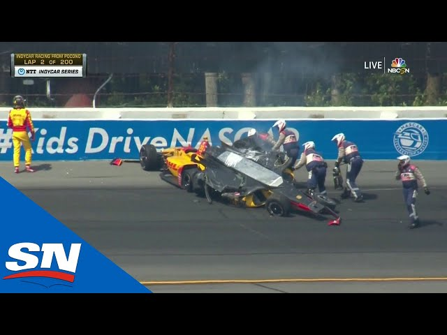 Another IndyCar Crash At Pocono Raceway Stirs Up More Controversy