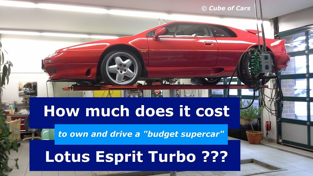 how much does it cost to own and drive a lotus esprit turbo is it a budget supercar youtube. Black Bedroom Furniture Sets. Home Design Ideas