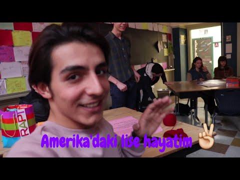 AMERIKA'DAKI LISE HAYATIM VE DERS SISTEMI!!