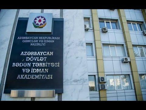 Azərbaycan Dövlət Bədən Tərbiyəsi və İdman Akademiyasında yeni yaradılmış ixtisasların təqdimatı olu