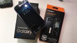 Unboxing: Samsung Galaxy S7 (32GB, Black Onyx)