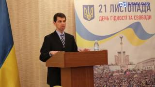 видео День Достоинства и Свободы в Житомире