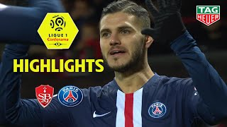 Stade Brestois 29   Paris Saint Germain ( 1 2 )   Highlights   (brest   Paris) / 2019 20