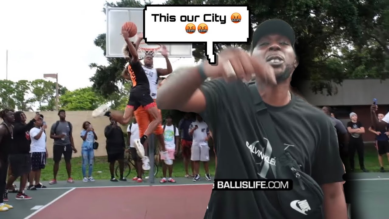 """This our City!!! """"Ain't none of that YouTube stuff"""" St Pete got Crazy (Trash talking and Posters)"""