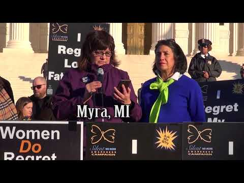 Myra's 2018 March for Life Testimony