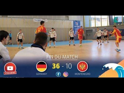 M24 GroupB I GERMANY-MONTENEGRO I Mondialito2017 18/01