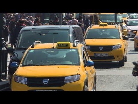 AFP: Taxis contre Uber: à Istanbul, la guerre des routes fait rage