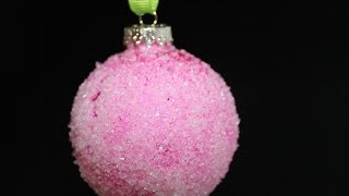 Epsom Salt Ornament Tutorial