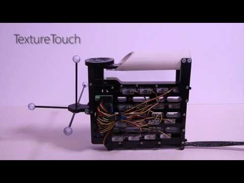 NormalTouch and TextureTouch: 3D Haptic Shape Controllers for Virtual Reality