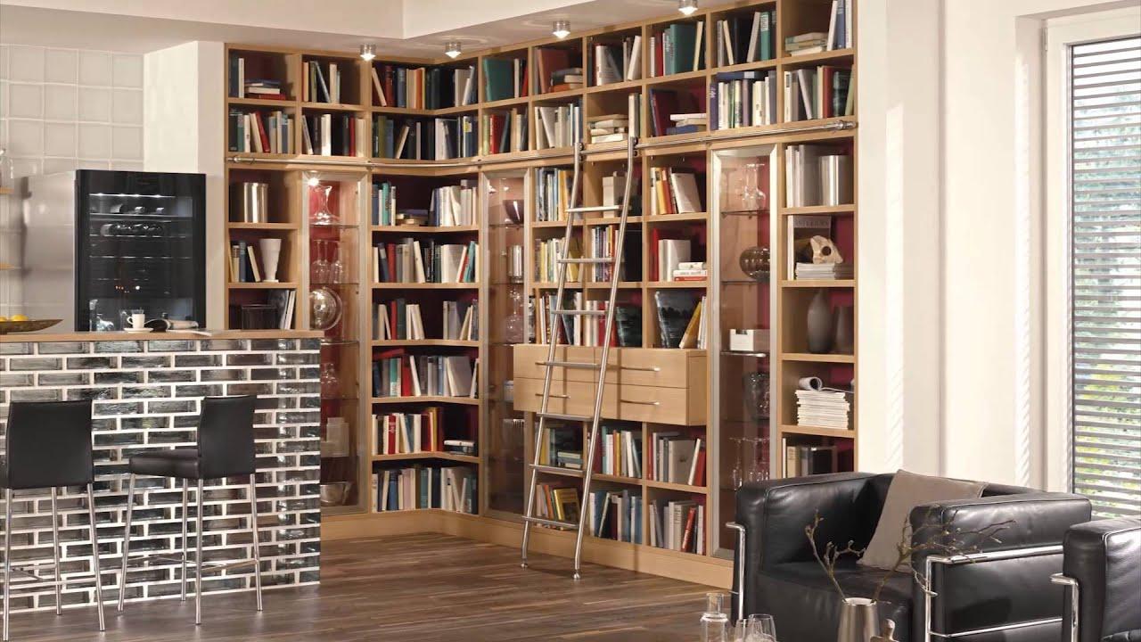 bibliotheksleiter vario youtube. Black Bedroom Furniture Sets. Home Design Ideas