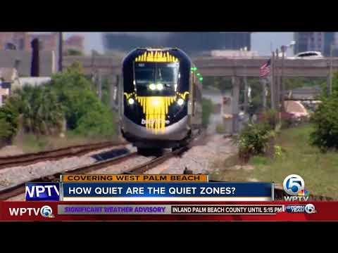 How quiet are the quiet zones?