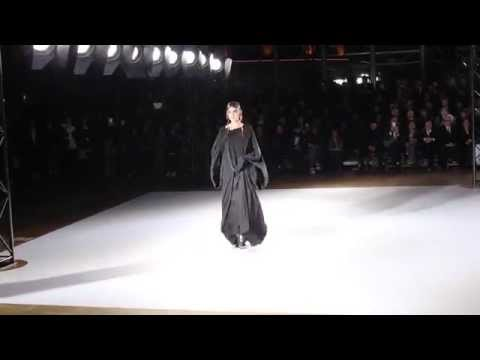 Yohji Yamamoto F/W 2015 | Daria Shapovalova at Paris Fashion Week
