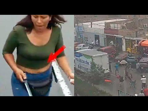 Ambulantes atacaron a cuchillazos a fiscalizadores en Surco